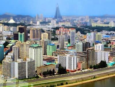 实拍朝鲜首都平壤现状