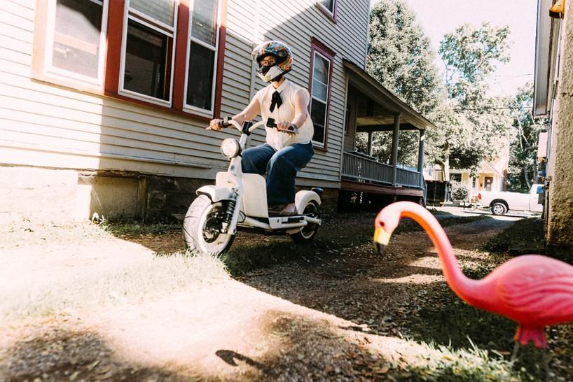 简约超可爱 Fido Motor电动两轮踏板车