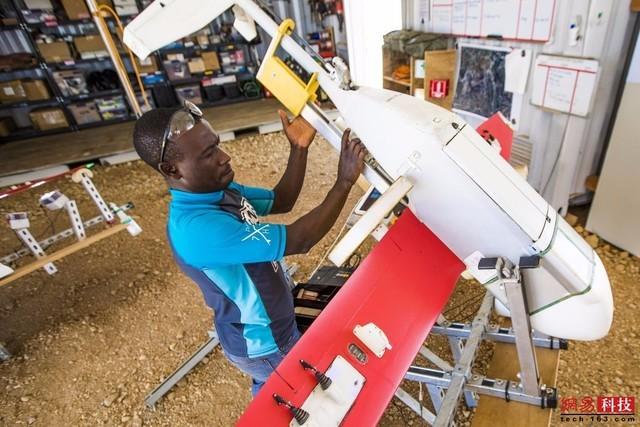 科技!卢旺达全境用上无人机递送血液