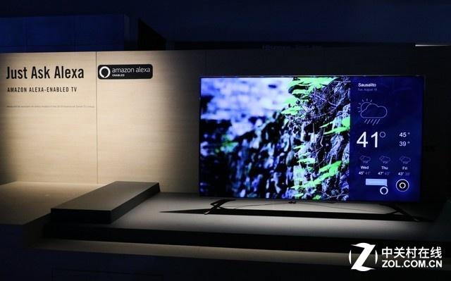 海信电视接入亚马逊Alexa之后,用户不仅可以通过语音来控制电视,还能共享亚马逊视频、音乐等优质内容。